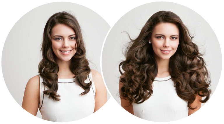 Hair extensions can change your looks.